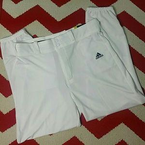 Adidas Men's Traditional Cut Baseball Pants Sz L